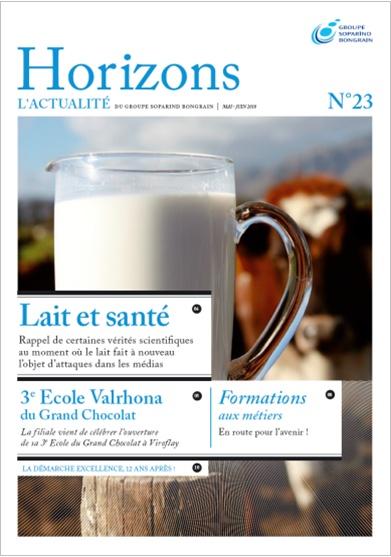 Soparind Bongrain - Magazine interne Horizons