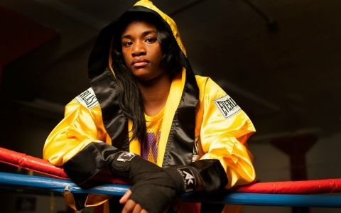 Claressa Shields -Olympic boxer, she's the female Mayweather,   total badass!!! #fan