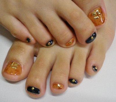 フットジェル プッチ柄、べっこう : coco heart nail blog ~北高崎駅より徒歩7分、 ココハートうけち店~