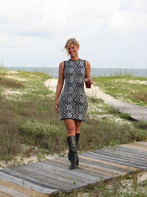Ravelry: Sparkle! Dress pattern by Shirley Paden