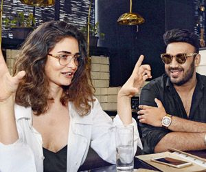 Gabriella Demetriades and Nikhil Thampi get chatty over Bollywood and style https://goo.gl/a8FXuo