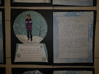 Fabulous in Fourth!: writing - If I lived in a snow globe