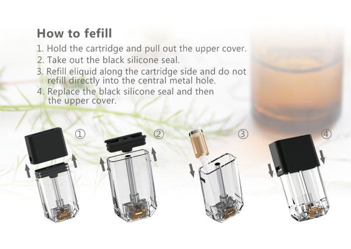 Wholesale Vaporizer Pen 1.0ml Flat E Cigarette Pod Ecig Disposable ...