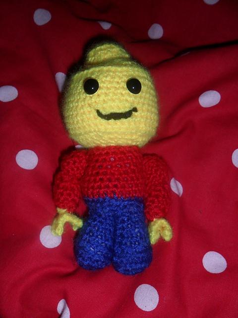 Amigurumi Lego Man : crochet amigurumi lego man lego crochet Pinterest