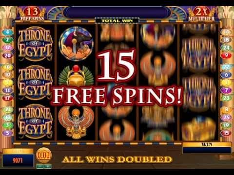 Throne Of Egypt Slot Game - Royal Vegas Casino