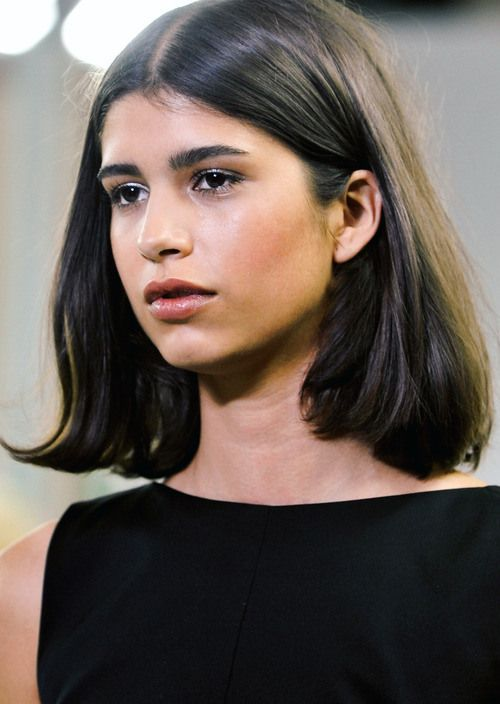 Shoulder length bob with subtle layers