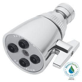 Speakman Anystream Classic 2.25-In 2.0-Gpm (7.6-Lpm) Polished Chrome 3-Spray Showerhead S-2253-E2
