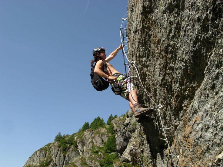 Via ferrata Béthaz Bovard di Valgrisenche (Italia) a 2603 m