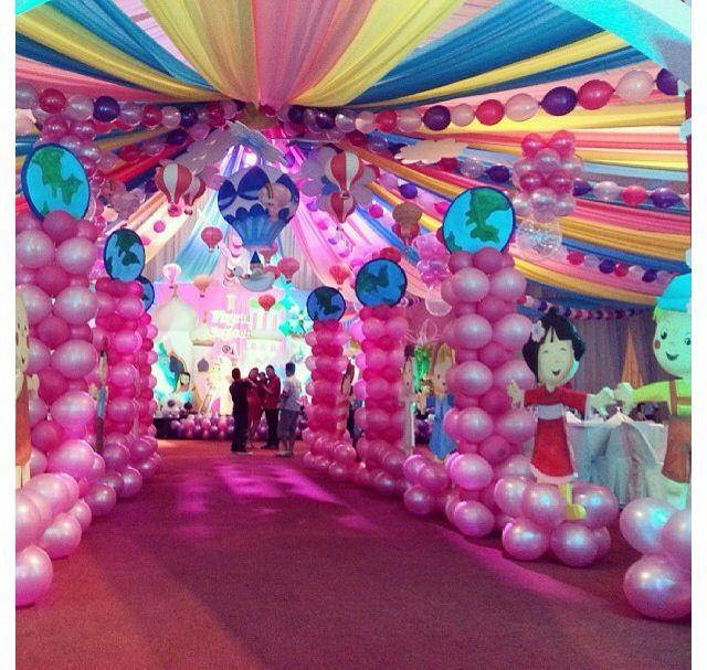17 best images about princess party on pinterest for Princess dekoration