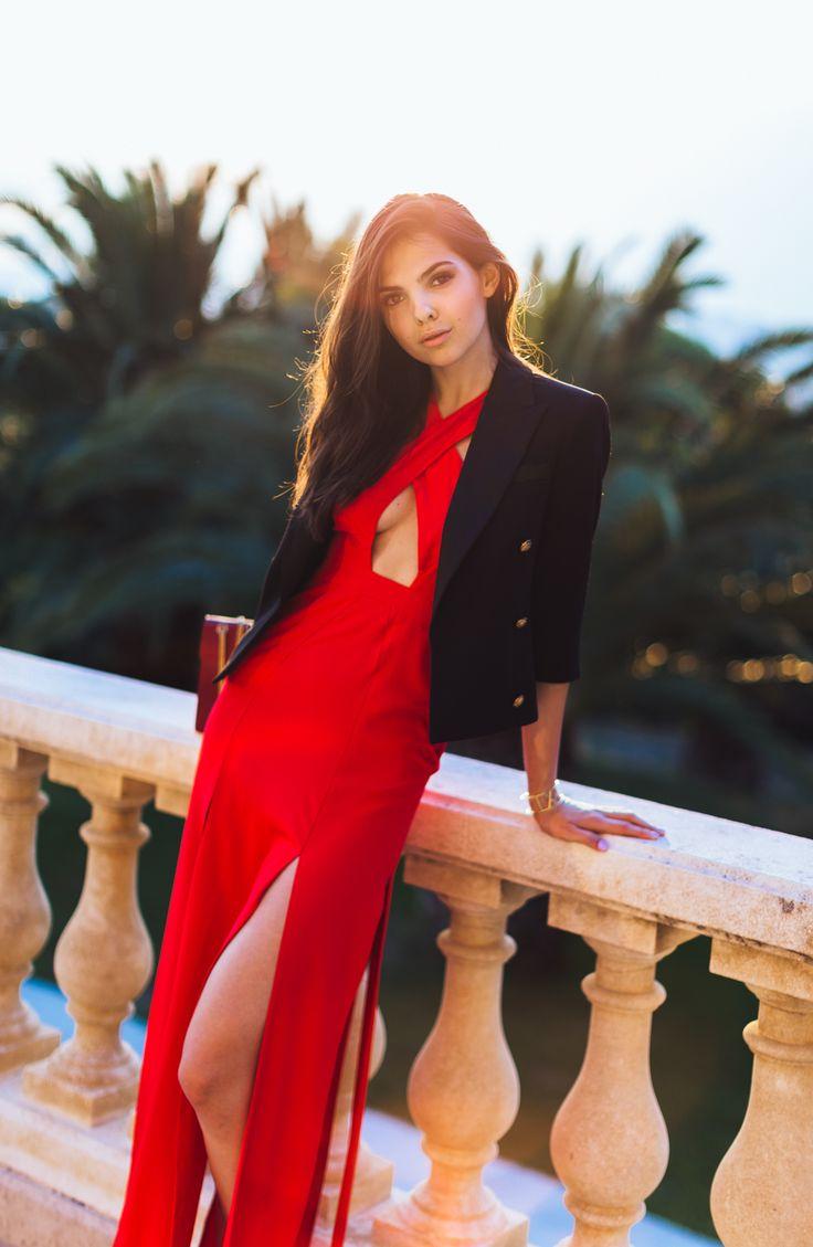 doina ciobanu red dress-9