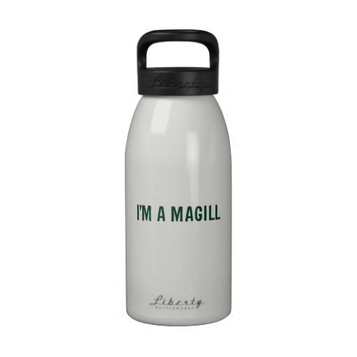 Magill Reunion Water Bottle: Design B
