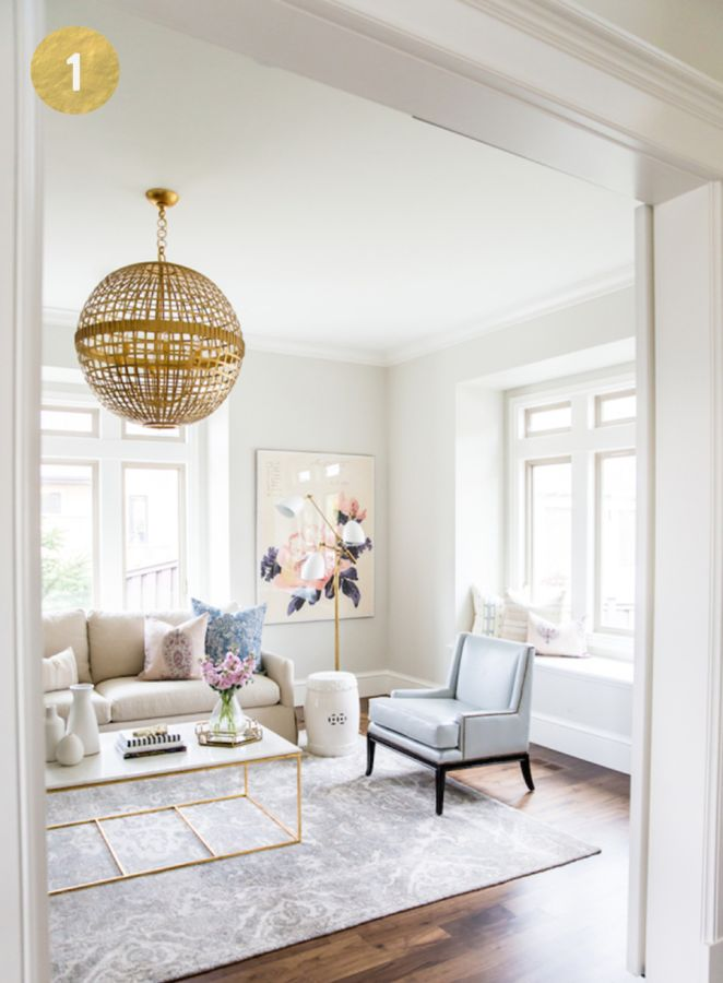 Cast Your Vote For Round 2 Of Style Me Pretty Living Dream Home Awards!  Gray Living RoomsContemporary ...