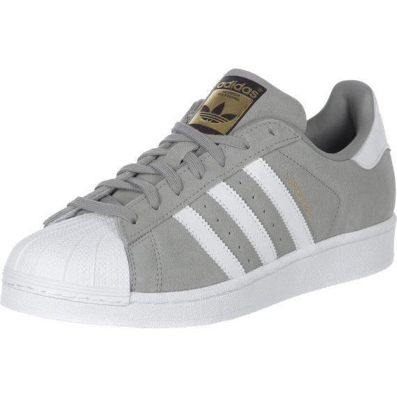 Superstar Suede Schuhe grau