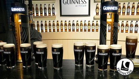 At a Choice of Hotels with Optional Tour of the Guinness Storehouse from £69 Per Person, Based on Two Sharing