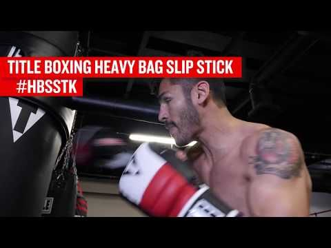 TITLE BOXING HEAVY BAG SLIP STICK - Punching Bags - TITLE Boxing