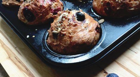 Koken met Fannetiek: Kwark-muffins