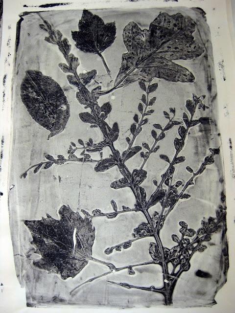 gelatin prints: Leaf Prints, Art Lessons, Spring Prints, Leafi Spring, Gelatin Recipes, Cassie Stephen, Crafts Stores, Art Projects, Gelatin Prints