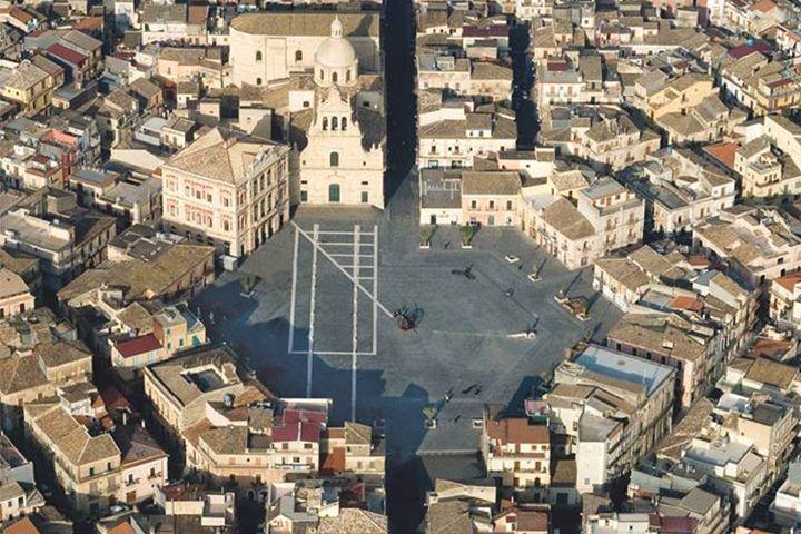 Grammichele nel Sicilia