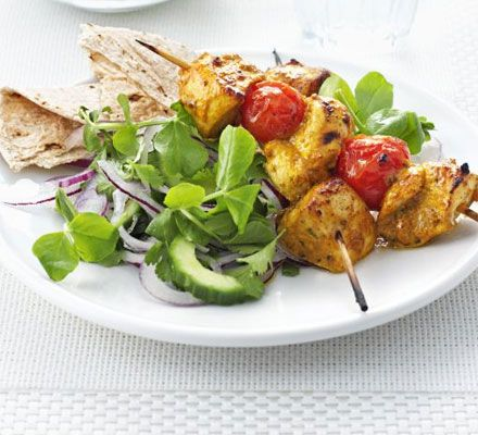 This breezy dish is perfect for the grill or barbecue - and it's low-calorie too