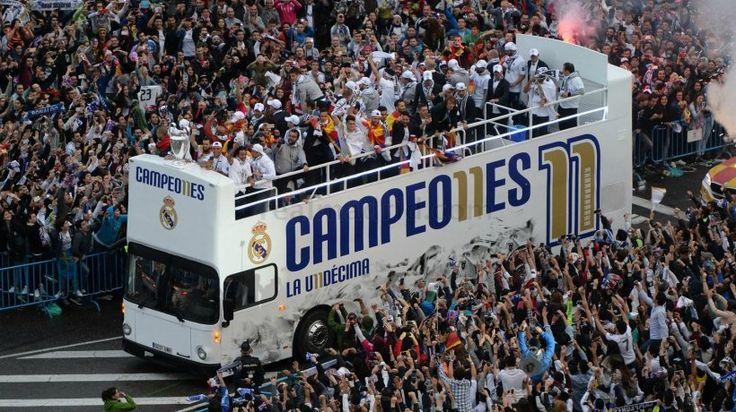Celebración de La Undécima Copa de Europa.