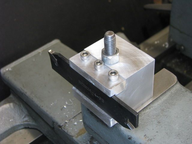 New parting tool holder - Home Model Engine Machinist