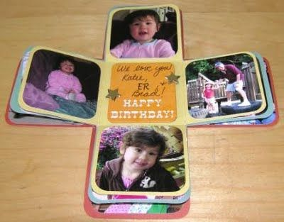 Love this idea for a Christmas presents: Photos Gifts, Christmas Presents, Gifts Ideas, Cute Ideas, Scrapbook Boxes, Exploding Boxes, Boxes Minis, Minis Scrapbook, Gifts Boxes