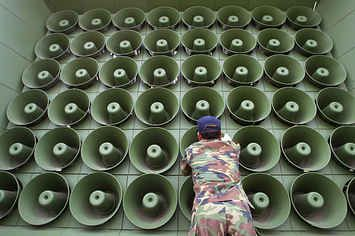 North Korea Warns Of War After South Resumes Loudspeaker Broadcasts