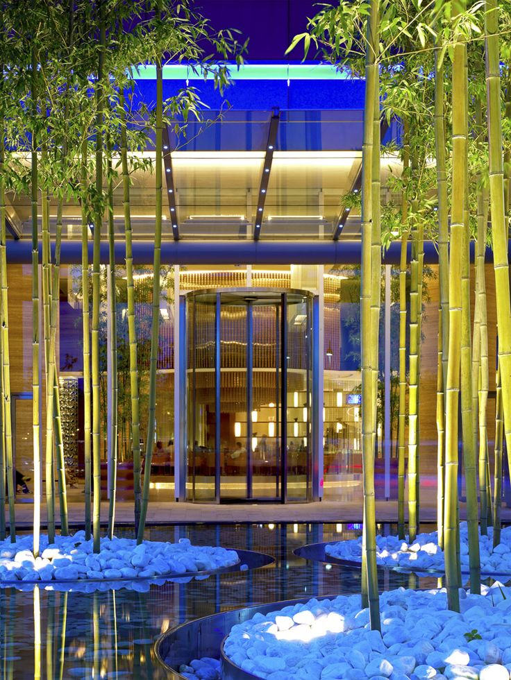 An electric forest! At the Novotel Citygate Hong Kong.