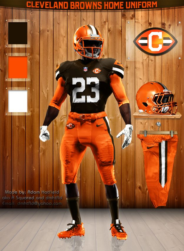 Cleveland Browns home uni