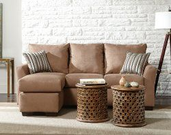 This Montana Mocha Sectional Is A Fun Piece Of Furniture For Your Living Room At An Amazing Price