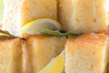 Coconut lemon syrup cake recipe, NZ Woman's Weekly – visit Food Hub for New Zealand recipes using local ingredients – foodhub.co.nz