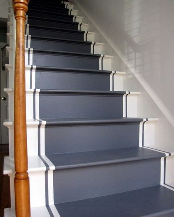 Basement Stair Designs Plans: 36 Best Images About Stair Runners On Pinterest