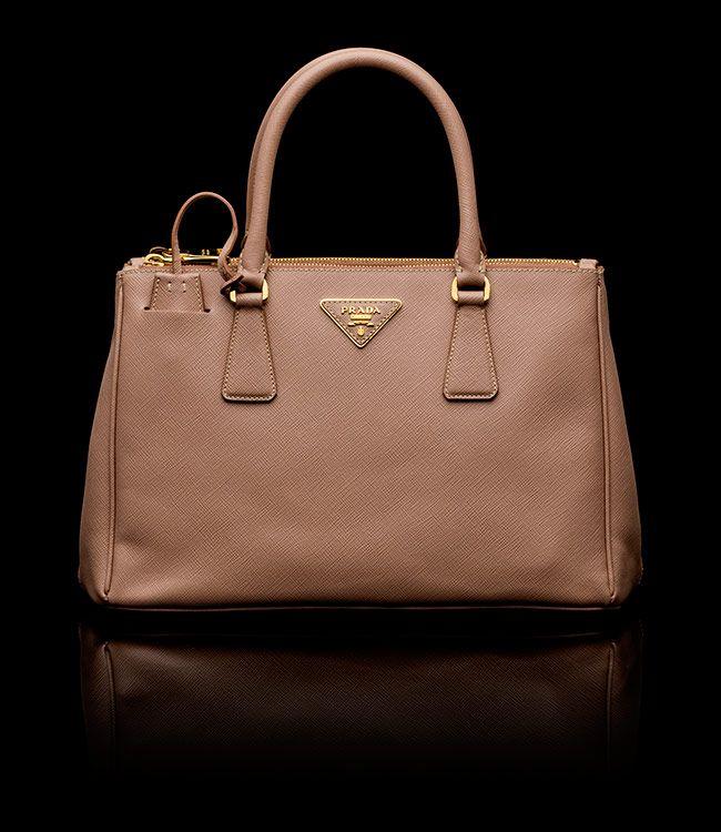 Prada Saffiano Leather Tote in Cameo   BOLSAS I WOULD LIKE TO HAVE ...