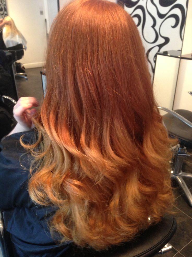 ginger ombr233 hair by me long hair styles hair ginger