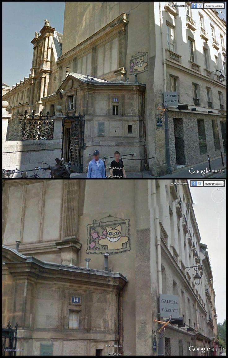 28 best images about street art on google street view on - Ecole des beaux arts paris ...
