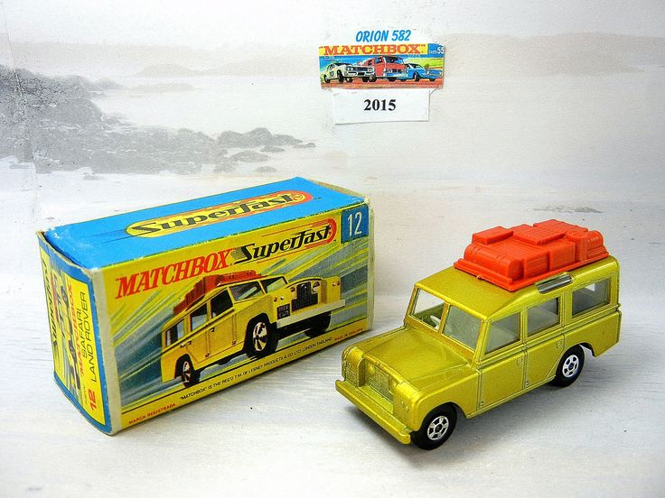 Matchbox Transitional Superfast 12 Safari Landrover