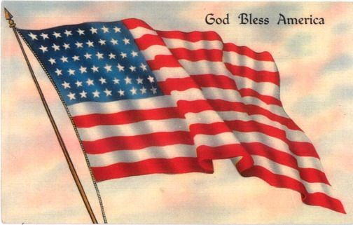 Free Patriotic Clip Art | ... » Blog Archive » Free Patriotic Vintage American Flag Clip Art