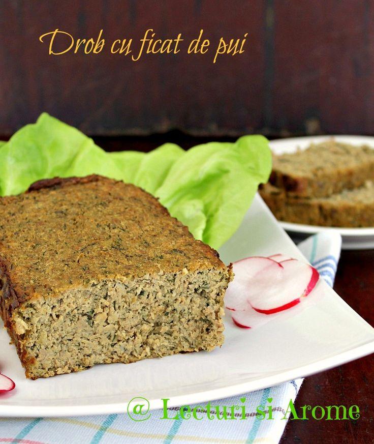 Reteta de drob cu ficat de pui este o alternativa la cea de pate de ficat dar si la cea de drob din miel pe care o pregatim pentru masa festiva de Pasti.
