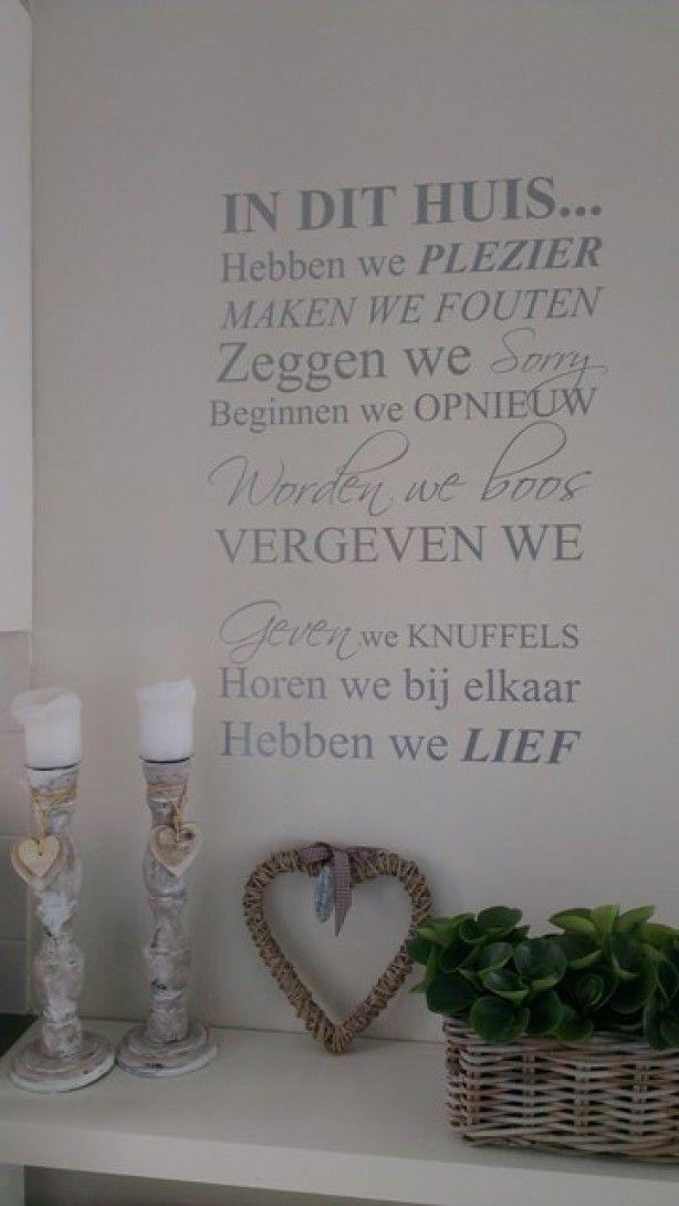 mooie tekst voor op canvas doek of paneel