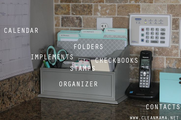 Command centers don't have to be complex or expensive. Check out these suggestions to keep it easier and more organized!