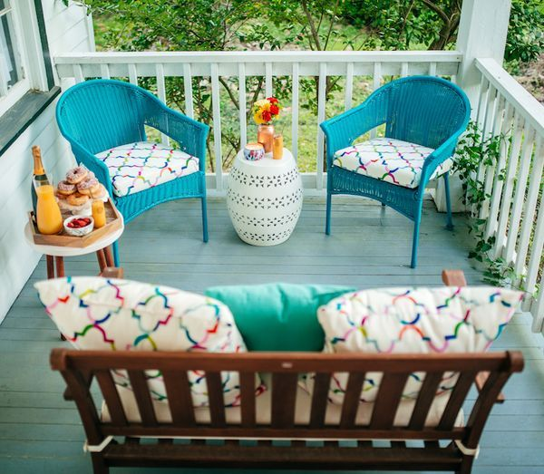 Haute Off The Rack, How To Decorate You Front Porch For Spring, World Market.  World Market Outdoor FurnitureOutdoor ...