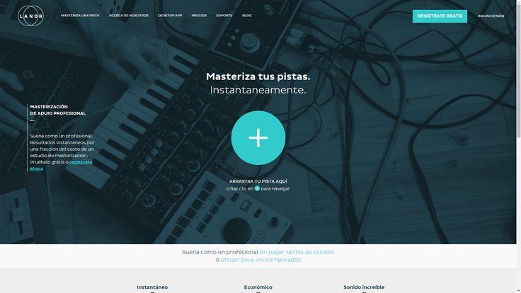 Masterizar tus proyectos en linea - http://pistas-hiphop.com/masterizar-tus-proyectos-en-linea-con-landr/