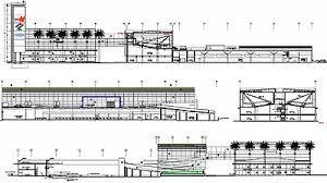 cortes arquitectonicos centro comercial - Buscar con Google