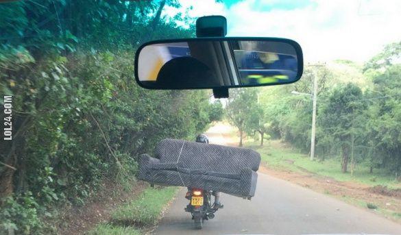 Jak przewieź kanapę skuterem? #jak #przewieź #kanapę #skuterem