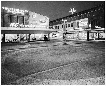 Vällingbyplan i Vällingby Centrum - Stockholmskällan