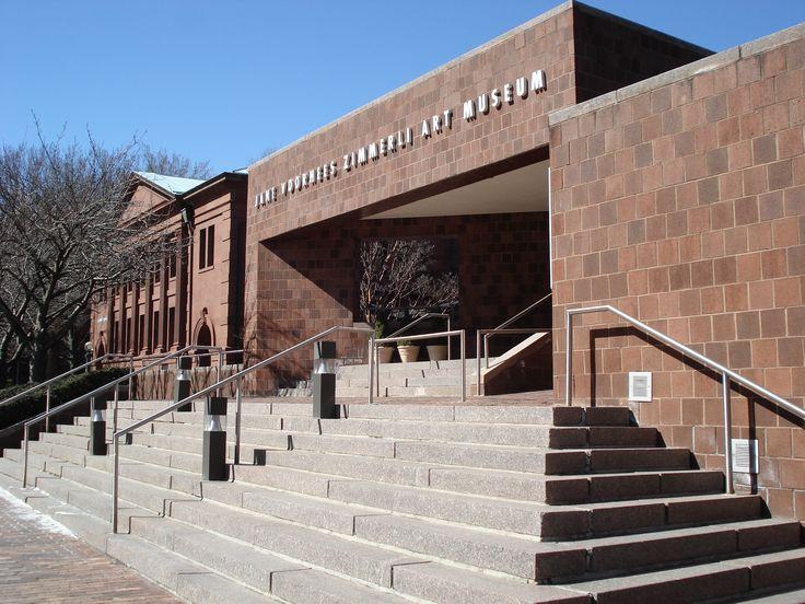 Rutgers University, Jane Voorhees Zimmerli Art Museum -  New Brunswick, New Jersey -  Water Infiltration Consultation