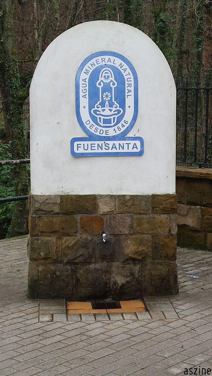 Las Foces del Río Pendón, #ruta de #montaña por #Asturias (#España). El recorrido comienza en el antiguo balneario de Fuensanta, actual planta embotelladora de aguas.