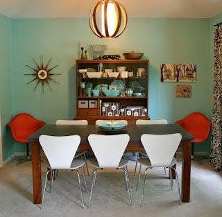 Mid Century Modern Dining Room Interior Designz Pinterest