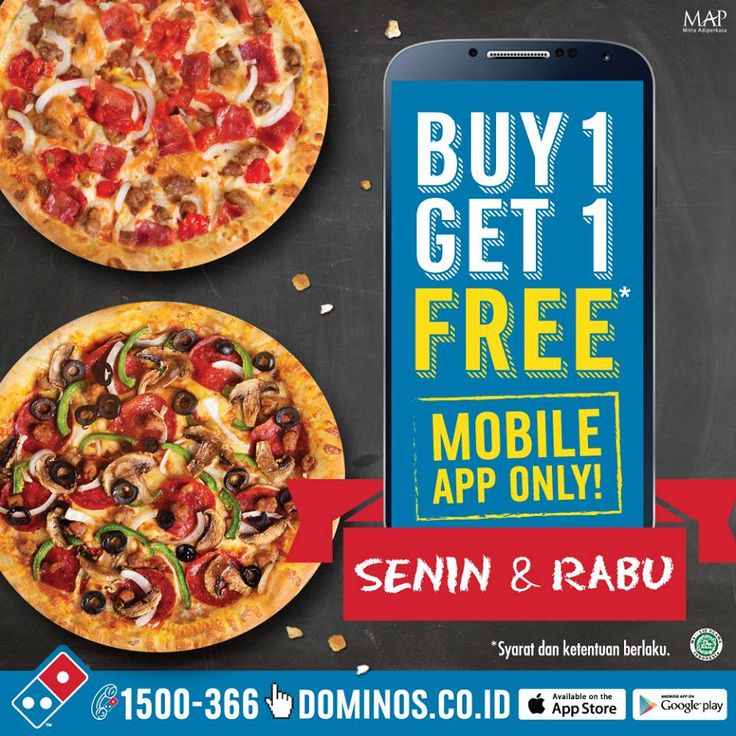 Dominos Pizza Promo Mobile Apps