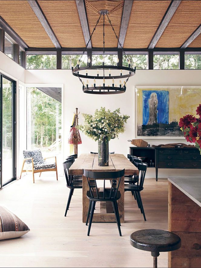 Love The Windows Along Ceiling Amagansett Homes Victor And Athen Calderones Beach House